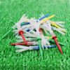12 Pieces 6 Prong Golf Tees Plastic 70 83 MM Less Friction 2 3/4, 3 1/4 Inch Yard Supplies Accessories golf tees