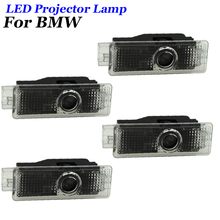 4pcs Led Car Door Welcome Light Ghost Shadow Projector Logo For BMW 7 5 3 Series E90 E92 M5 F15 F10 F30 E60 G30 G38 E65 E66 F01