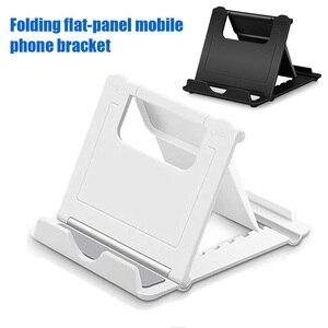 Soporte de teléfono portátil ajustable para iPhone soporte Universal de plástico para tableta soporte para iPad Samsung Huawei Laze soporte para tableta