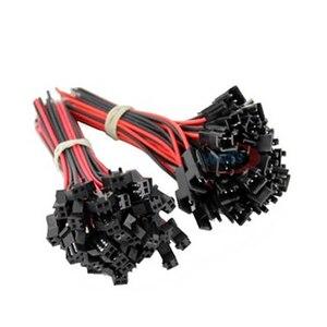 Image 4 - 100 זוגות 3pin 4pin 5pin 6pin JST LED מחברים, זכר ונקבה מחבר עבור 3528 5050 RGB RGBWW RGBW LED רצועת אור