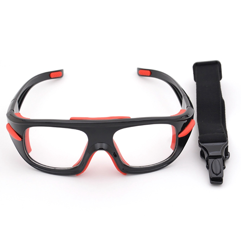 Adjustable Sport Glasses Explosion-proof Windproof Dust-proof Anti-fog Safety Goggles Protective Eyewear For Basketball