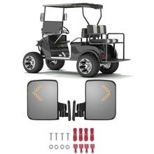 Боковое зеркало заднего вида с поворотом, подходит для гольф-карт, клубного автомобиля для Yamaha EZGO TXT Drive
