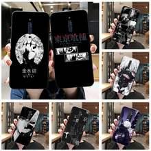 Anime tóquio ghoul japão suave caso de telefone para oppo a5 a9 2020 reno2 z renoace 3pro a73s a71 f11