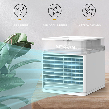 Air Cooler Arctic Air Personal Space Cooler Mini Fan Water Cooling Space Air Conditioner Fan Device Home Office Desk fan polaris psf 40 v floor fan mini air conditioner air cooler ventilation cooler fans
