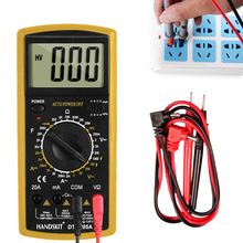 Handskit Multimeter AC /DC Digital 2000 counts Meter Testers Professional Tester Voltmeter LCD Display