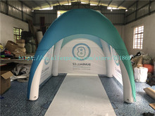 Sale of 3 meters inflatable four-legged tent, outdoor advertising mobile tent, PVC inflatable closed dome tent цена в Москве и Питере