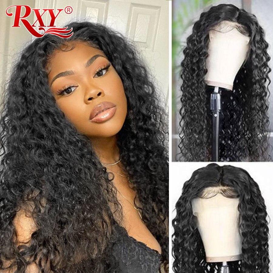 Парики из натуральных волос на фронте и на 360 градусов с волнистыми и влажными волнистыми волосами