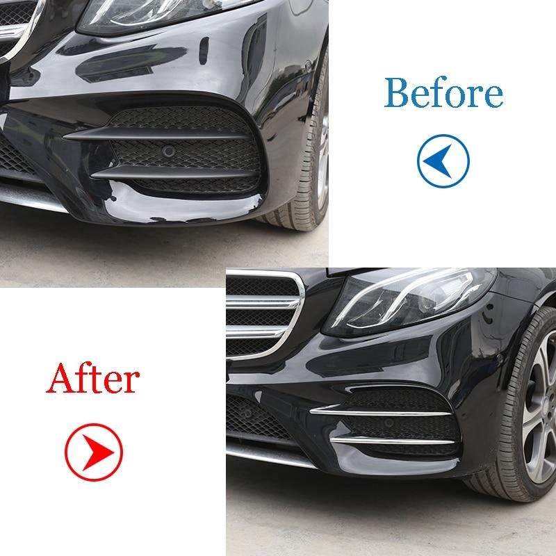 Mercedes-BENZ E-Class W213 E43 AMG Sedan Front Vent Flaps Cover Trim 2017-2018