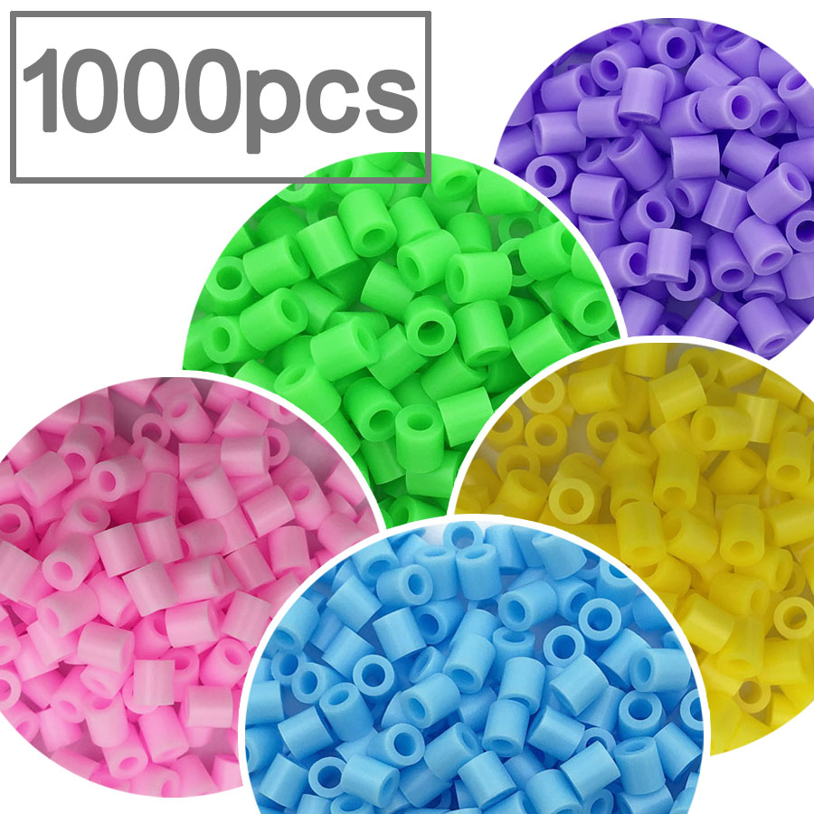 5mm Perler Beads 1000pcs Fuse Beadsd Pearly Iron Beads For Kids Hama Beads Diy Puzzles High Quality Handmade Gift Toy