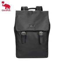 OIWAS Trendy Double Shoulder Laptop Backpack For Men And Women Fashionable Bussiness Bags College School Leisure Large Backpack leisure men s backpack with double buckle and black color design