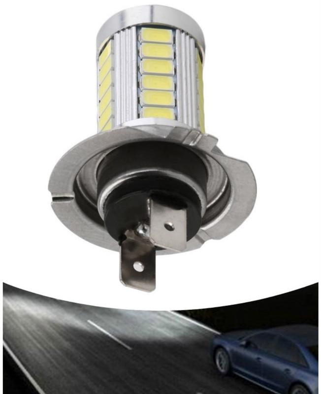 1Pcs H7 Super Bright 12V 5630 SMD 33-LED Auto Car Fog Driving Light Lamp Bulb 6000K Fog Headlight Car Lights Car Accessories