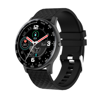 Nuevo reloj inteligente IP68 a prueba de agua, Monitor de pulso y presión de oxígeno en sangre, monitoreo del sueño, Smartwatch conectar IOS Android