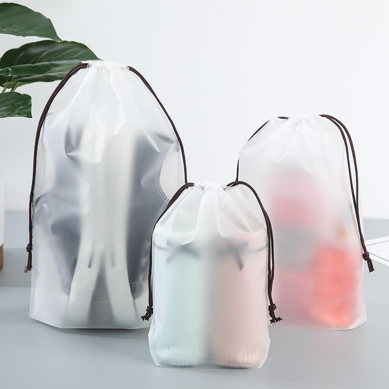 Transparent Animal Bear Cosmetic Bag For Women Travel Storage Waterproo Beam Port Make Up Beauty Toiletry Wash Kit Case Neceser