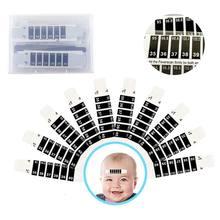 50 шт ребенок ЖК изменение цвета стикер температуры тела простой