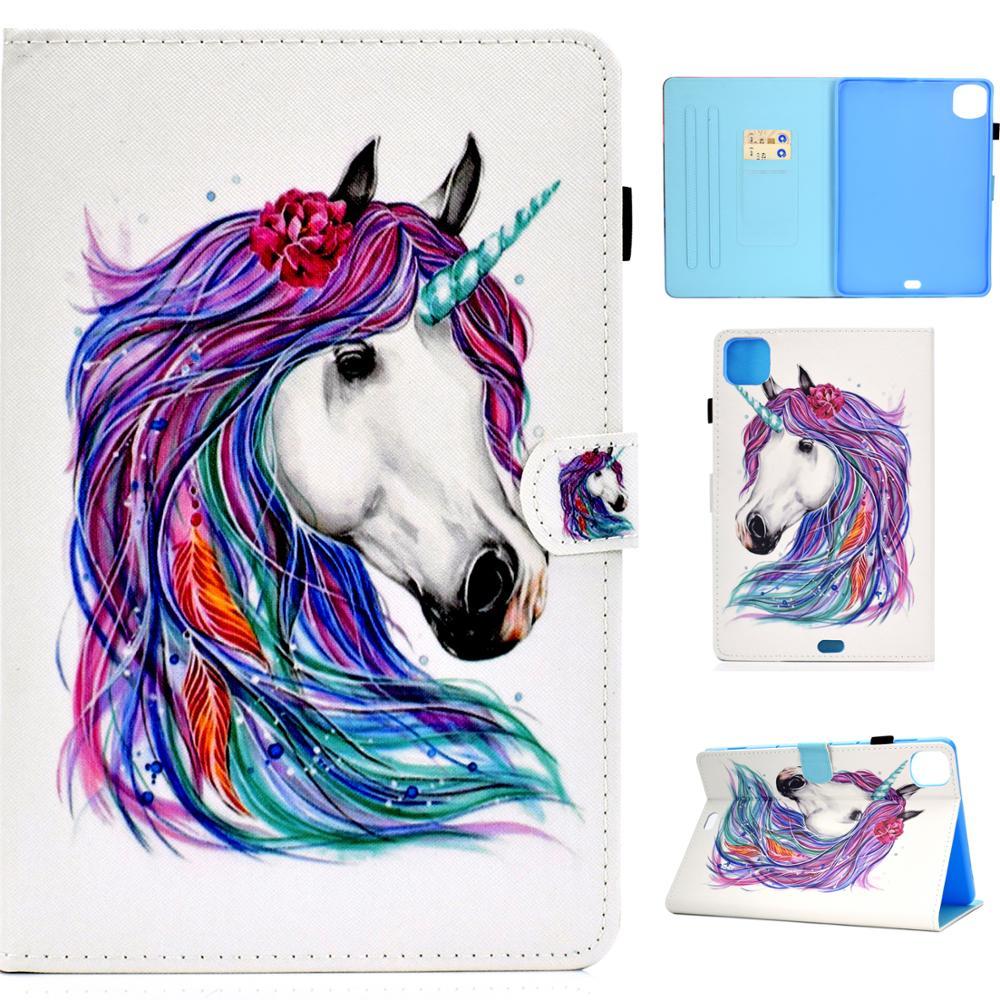 Cool Horse Puppuy Coque для iPad Pro 11, чехол 2020, кожаный флип-чехол для планшета, защитный чехол для нового iPad Pro 11 2020, чехол с подставкой