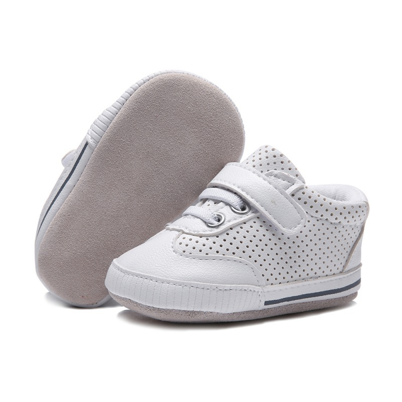 Prewalker Shoes Sneaker Sole Newborn Toddler Soft Infant Baby-Boys-Girls Genuine-Leather