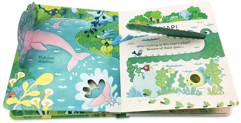 da selva para crianças livros bebê inglês língua aprendizagem
