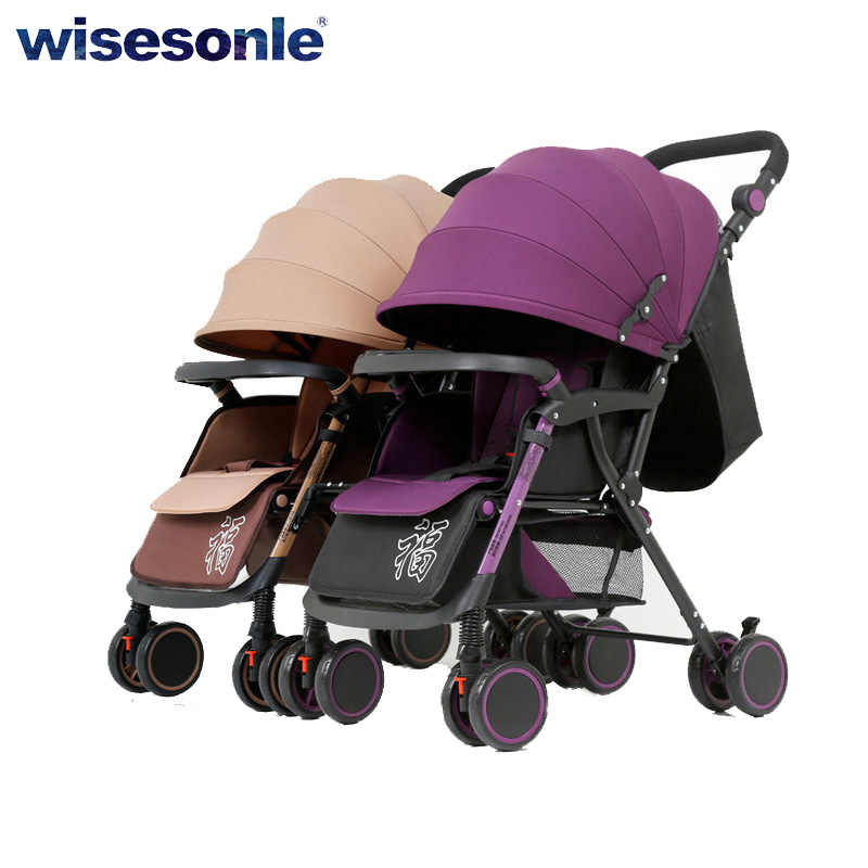 stroller for twins baby stroller two way baby stroller umberlla mini lightweight folding portable trolley Free shipping