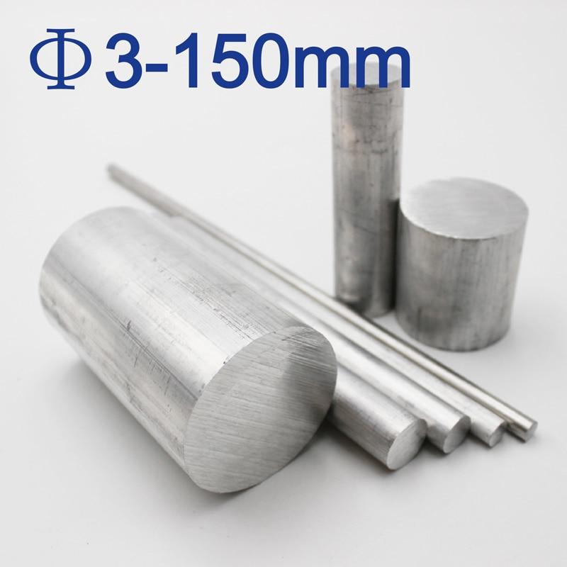 2pcs Φ20mm x 300mm ALUMINUM 6061 Round Rod D20mm Solid Lathe Bar Stock Cut Long