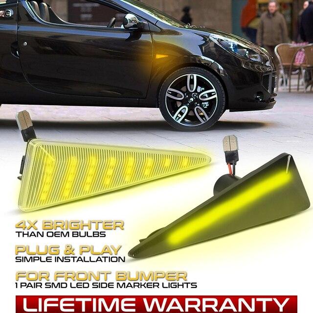 רכב צד מרקר הפעל אות מחוון LED דינמי אורות עבור רנו מגאן MK2 CC Espace MK4 סניק MK2 רוח Avantime תאליה 2