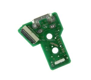 Image 4 - 50pcs JDS 055 050 001 011 030 040 USB พอร์ตชาร์จ Socket Power Charger Board 12PIN สำหรับ Playstation 4 PS4 Pro Controller