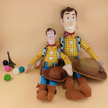 2019 Movie Woody Soft Plush Stuffed Doll Figure Cartoon Toy Children Kids Gift B702 2019 movie forky soft plush stuffed doll figure cartoon toy children kids gift b705