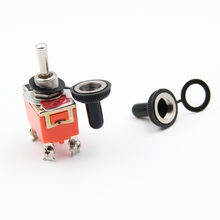 1 PC New SPST Waterproof Switch Cap On-Off 15A 250V Toggle Switch Rocker Switch The Power Switch Micro Switch css 6 terminals on off on dpdt toggle switch ac 250v 15a