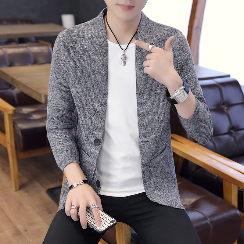 NEW 2020 Brand Sweater Men Streetwear Fashion Sweater Coat Men With Pockets Autumn Warm Cashmere Wool Cardigan Men