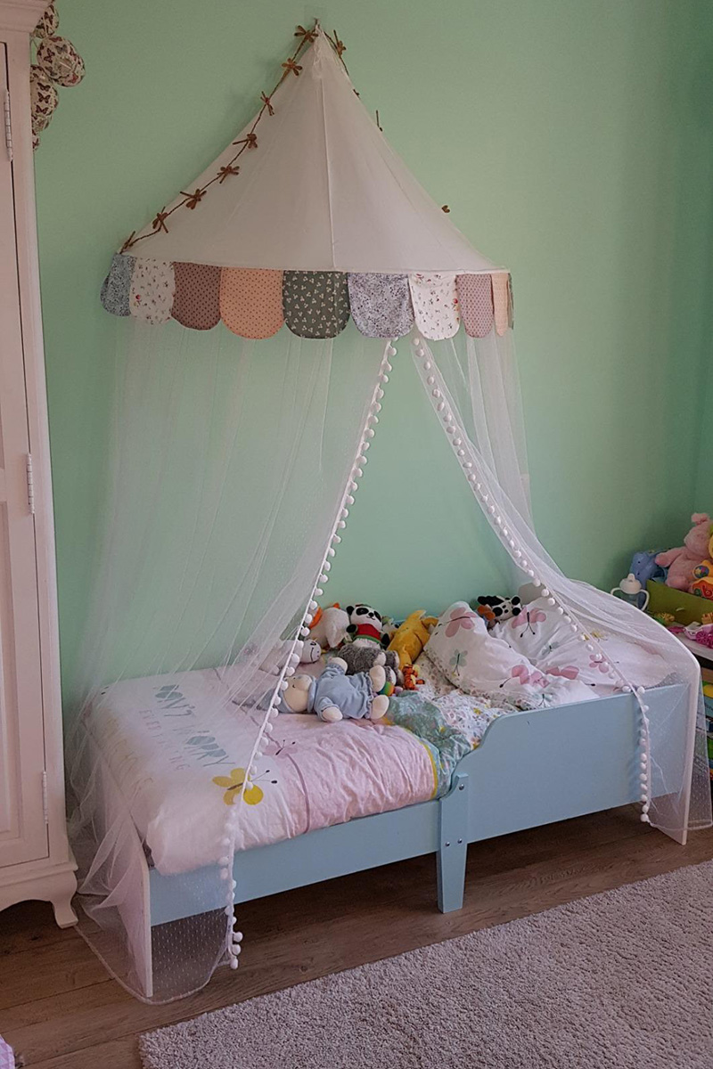 Image of: Kids Tent Play House Baby Crib Canopy Curtain Infant Toddler Bed Tent Canopy Mosquito Net Tipi Play Tent Teepee For Children Toy Tents Aliexpress