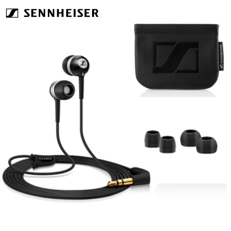 <font><b>Sennheiser</b></font> <font><b>CX300II</b></font> high quality powerful bass in-ear compact and exquisite bass resolution headphones image