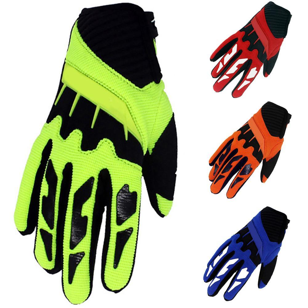 Детские перчатки для катания на коньках, самокате, велосипеде, велосипеде, с полной защитой пальцев, велосипедные перчатки для езды по пересеченной местности, гоночные перчатки унисекс