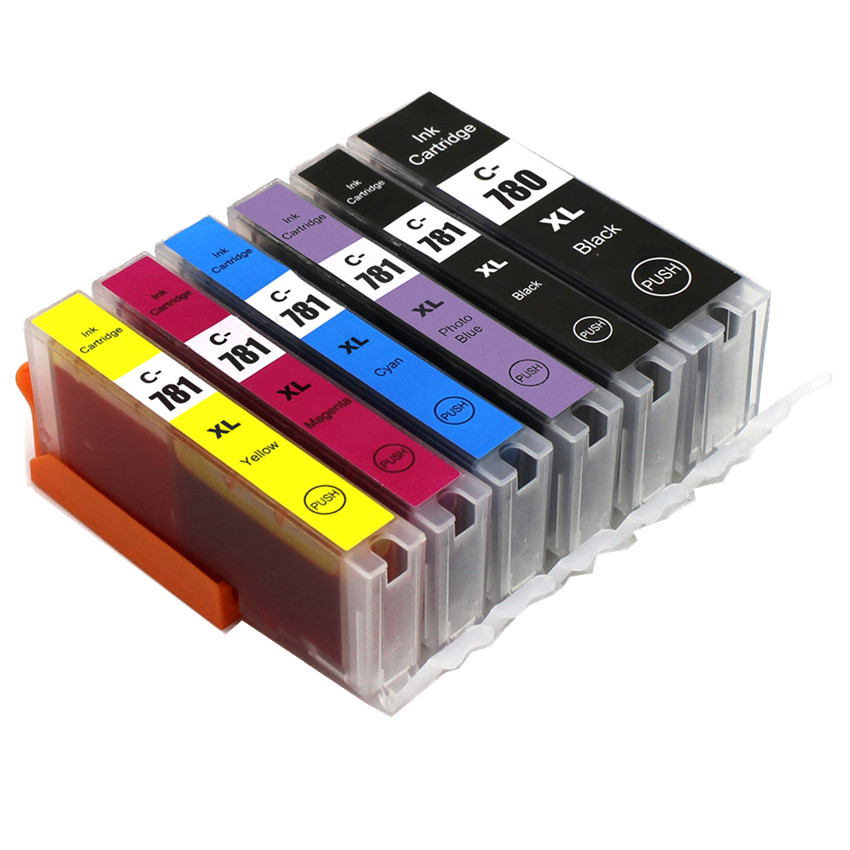 BLOOM Compatible PGI-780 CLI-781 PGI780 CLI781 780781 Ink Cartridge For Canon PIXMA TR8570 TS8170 TS9170 Printer