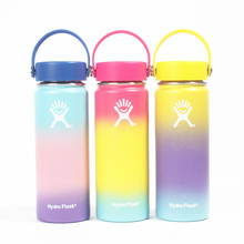 Stainless Steel Water Bottle Hydro Flask Water Bottle Vacuum Insulated Wide Mouth Travel Portable Thermal Bottle 18oz 32oz 40oz stainless steel water bottle hydro flask water bottle vacuum insulated wide mouth travel portable thermal bottle