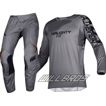 New 180 Prizm Stone Grey Motocross Suit Kit Off-road MTB DH MX Racing Jersey And Pants Motorcycle Dirt Bike Riding Gear Combo 2017 naughty fox mx shiv 360 motocross gear set off road racing suit motocross jersey and pants