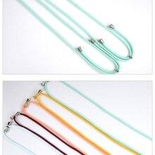 Lanyard Phone-Case Crossbody-Shoulder Luxury Adjustable for Necklace Polyester-Rope