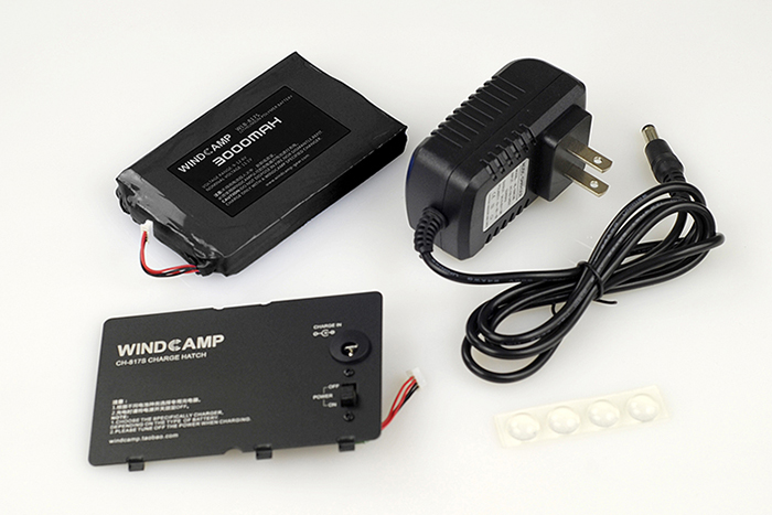 Free Shiping 3000mAh Polymer Lithium Battery + Charger + Battery Cover For Yaesu FT-817 FT-818ND FT-817ND