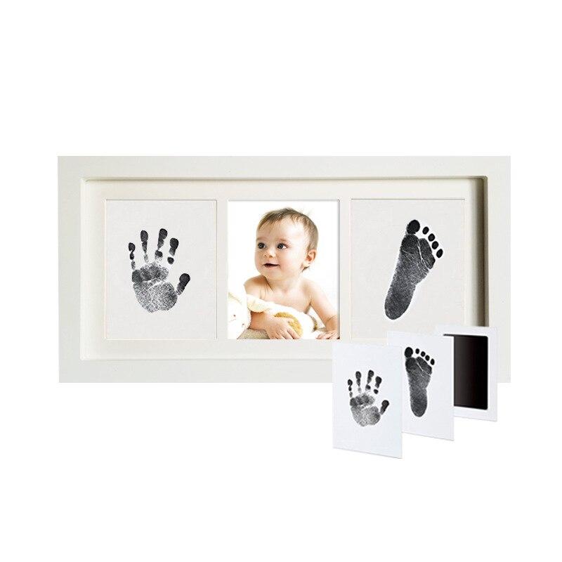 Чернильная рамка для фотографий детская с изображением рук ног