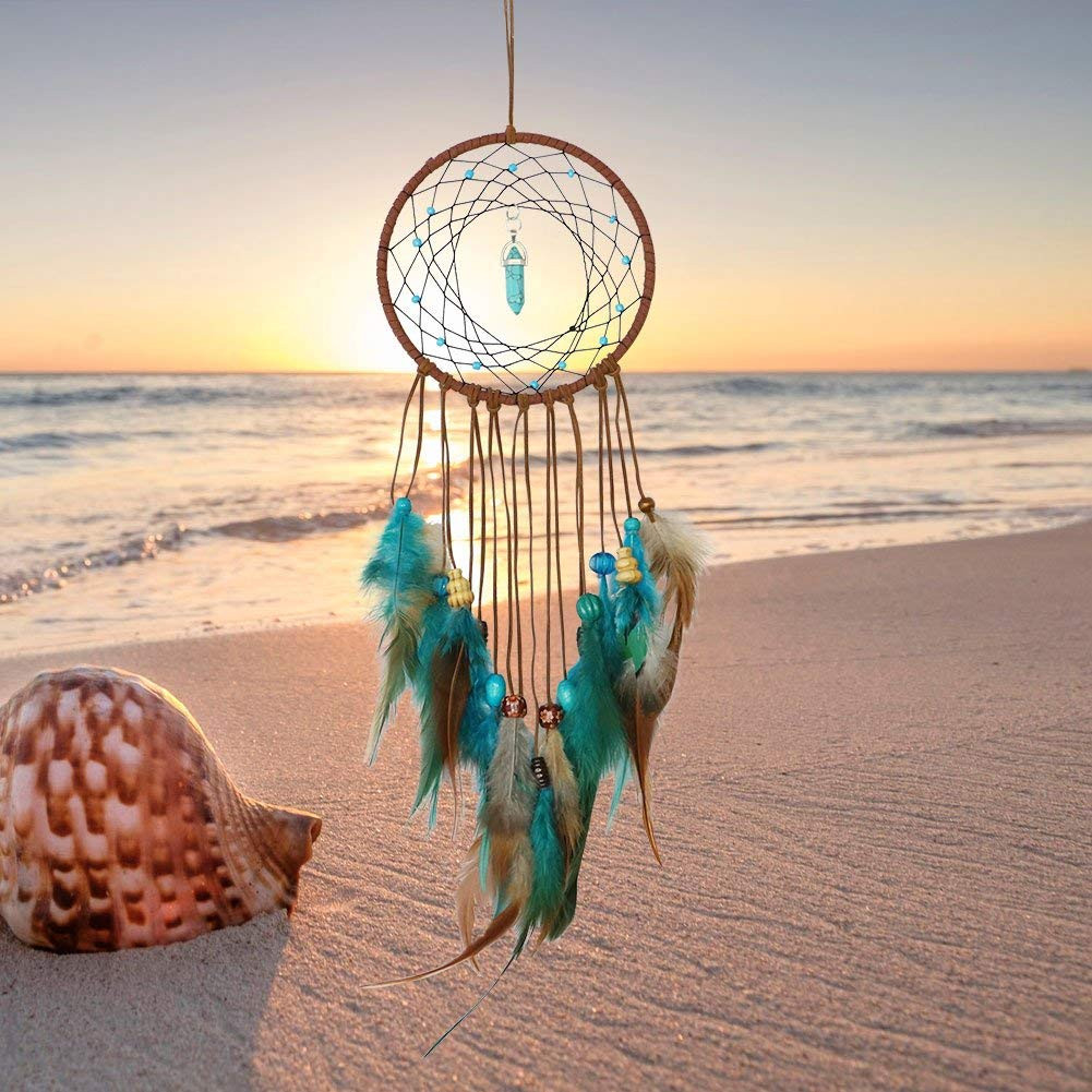 Handmade Dream Catcher Feathers Decoration For Car Wall Hanging Room Home Decor Creative Comfortable Warmth Quality Exquisite