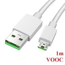 Micro USB Cabo para OPPO R15 VOOC R11 R11s plus R19 R17 pro Carregador Rápido R5 R8107 R8109 R7S R7 R7T R7 R9 R9s Plus 5V 4A AK779