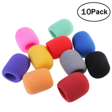 Stage-Microphone NUOLUX Windscreens-Covers Soft-Foam Handheld Windshileds 10-Colors