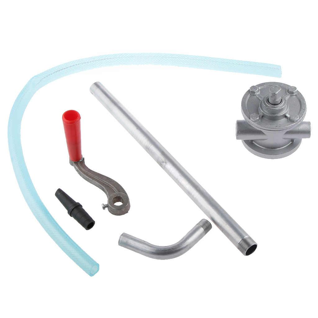 Aluminium Alloy Rotating Crank Oil Barrel Drum Pump for Pumping Petrol Fuel Diesel Manual Oil Pump