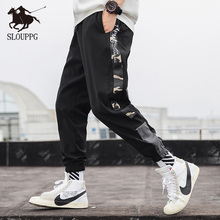 2019 Men Multi-pocket Harem Hip Pop Cargo Pants Trousers Streetwear Sweatpants Joggers Pants Casual Fashion Cargo Pants Men цена