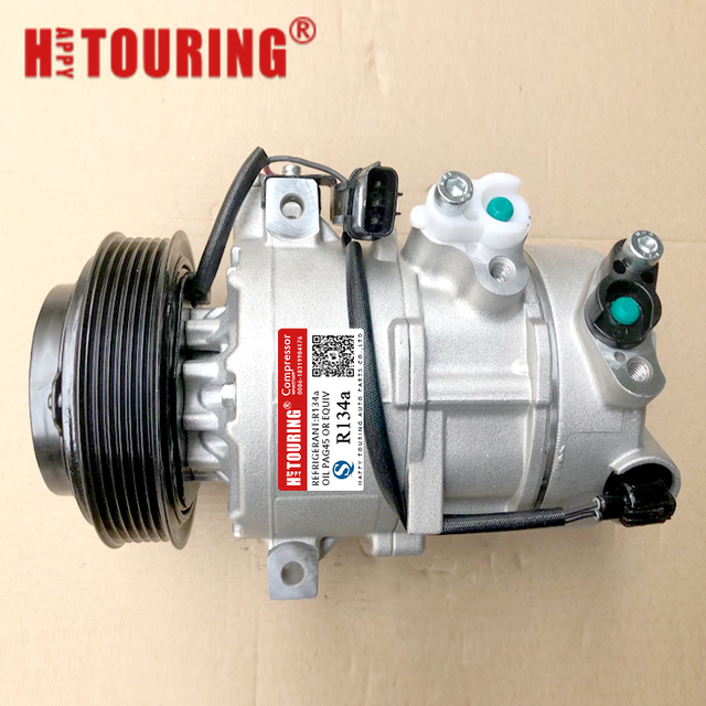 For DVE16 ac compressor hyundai Tucson 2.0 ix35 Kia Sportage 2010 CM108168 977012S000 97701 2S000