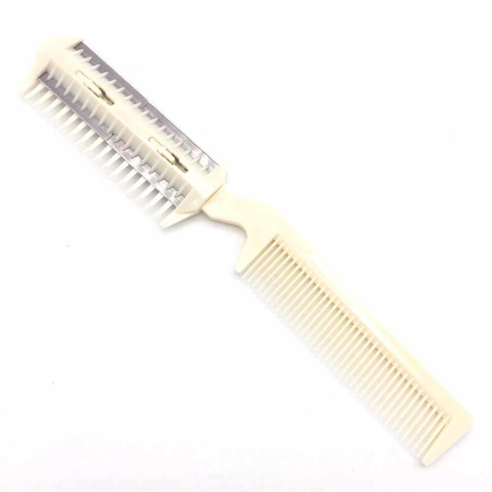Profesyonel Pet saç kırpma jilet bakım tarağı bıçakları inceltme köpek kedi makas kuaförlük aracı yüksek kalite