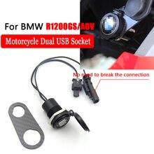 Для BMW R1200GS R1200RT ADV R1250GS 4.2A мотоцикл двойной USB интерфейс цифровой дисплей зарядное устройство адаптер порт