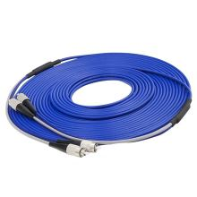 FC/UPC to FC/UPC Armored Fiber Patch Cable Duplex Single Mode Armored optical Patch cord