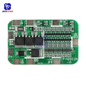 Image 5 - Diymore 6S 15A 24V PCB BMS Bordo di Protezione Per 6 Pack 18650 Li Ion Cellula di Batteria Al Litio Modulo