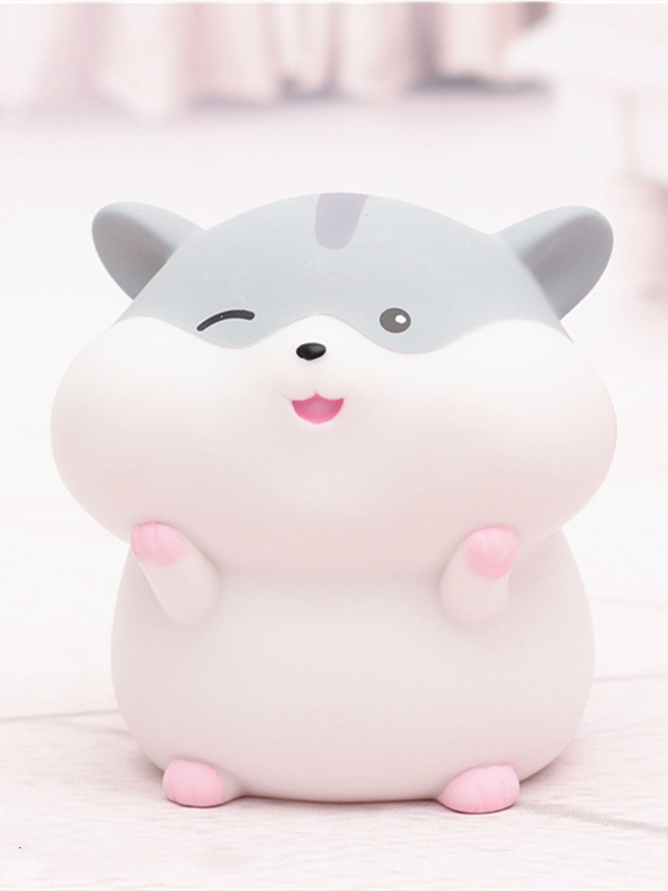 Top-Ornament Money-Box for Home Cute Toy Party Student Birthday-Gifts Souvenir 1pcs Hamster