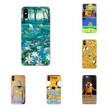 Silicone Skin Cover Adventure Time Jake Cartoon For Huawei P7 P8 P9 P10 P20 P30 Lite Mini Plus Pro Y9 Prime P Smart Z 2018 2019(China)
