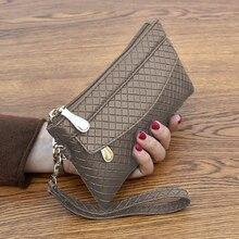 Новинка мода искусственная кожа кожа женщины кошелек клатч женщины% 27 кошелек лучший телефон кошелек женский чехол телефон карман